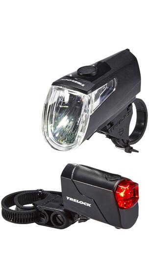 Trelock LS 360 I-GO ECO+LS 720 REEGO fietsverlichting zwart